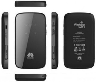 huawei lte 4g router e589 all sides
